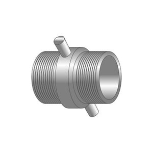 BSP Parallel Threaded Lugged Adapter (Male X Male)