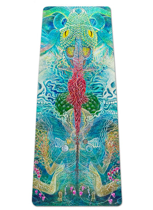Self Reflection Yoga Mat
