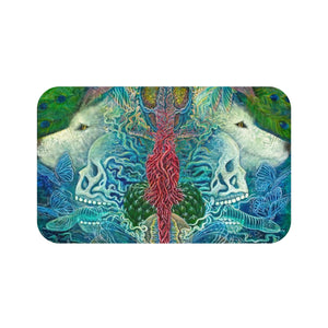 Self Reflection Bath Mat