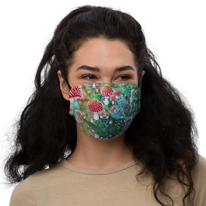 Ancient Psychedelia Premium face mask