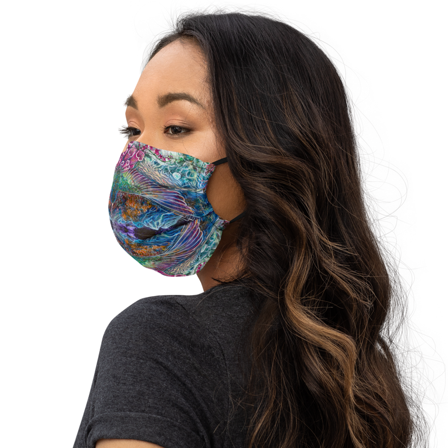 The Spirits of Fires Premium face mask