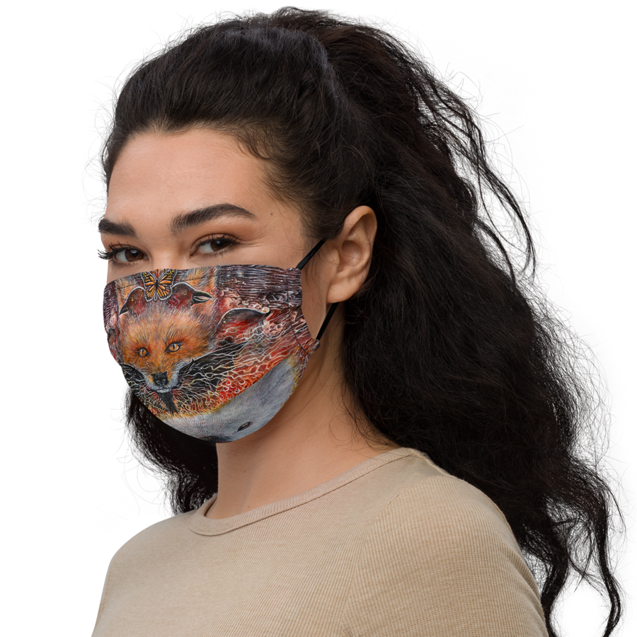 Ascended Kingdom Premium face mask