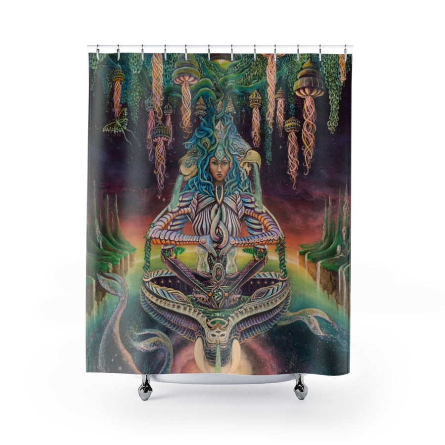 Soul Temple Shower Curtain