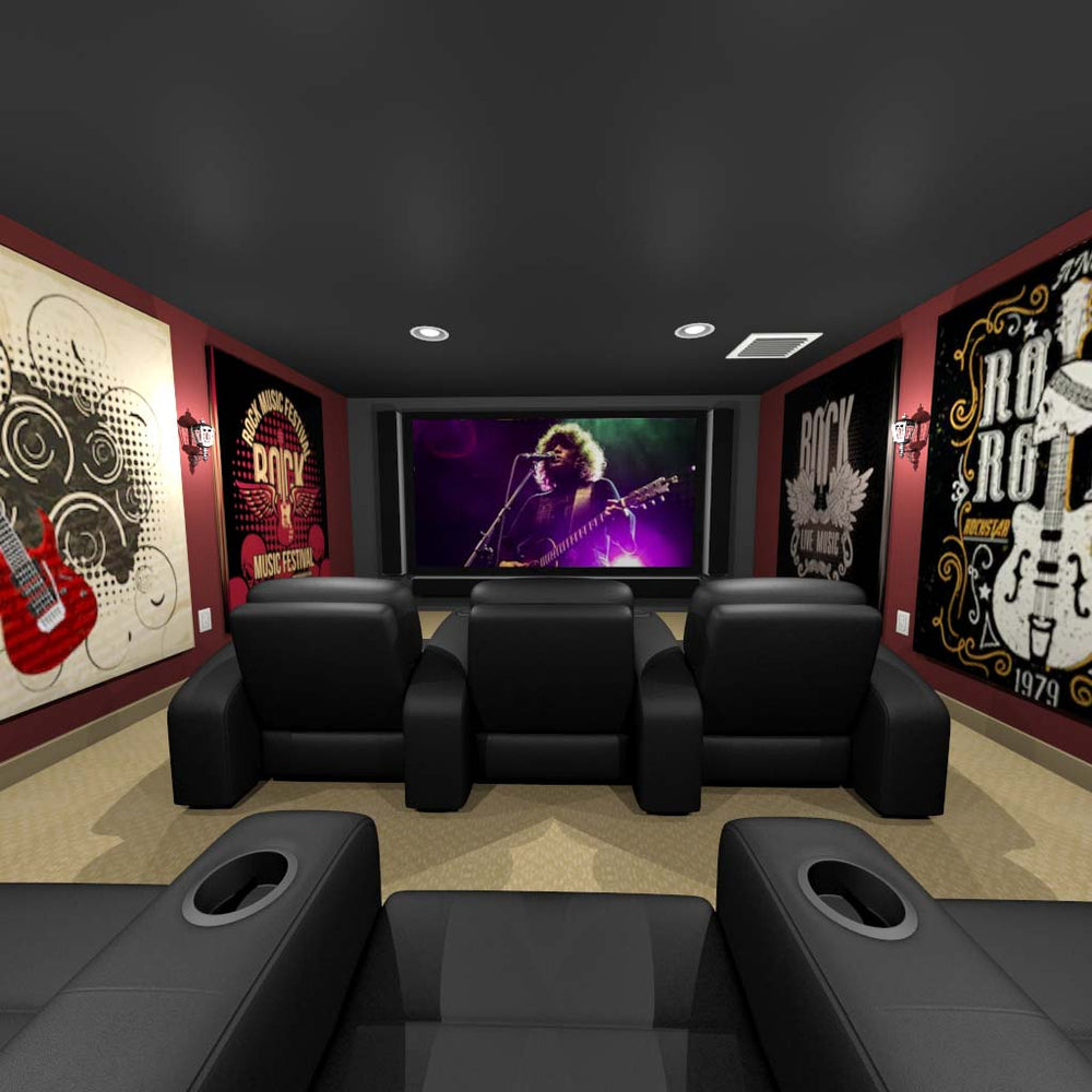 Rock-N-Roll Home Theater