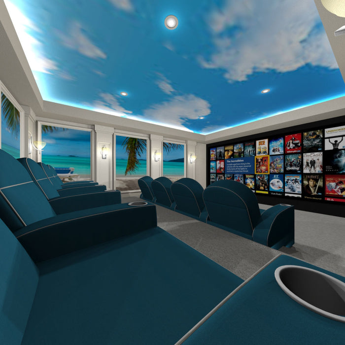 Beach Home Theater