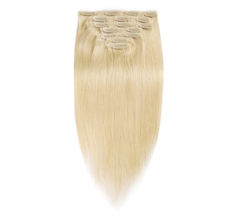 Clip In Extensions | Love Collection | Straight | 613 Blonde
