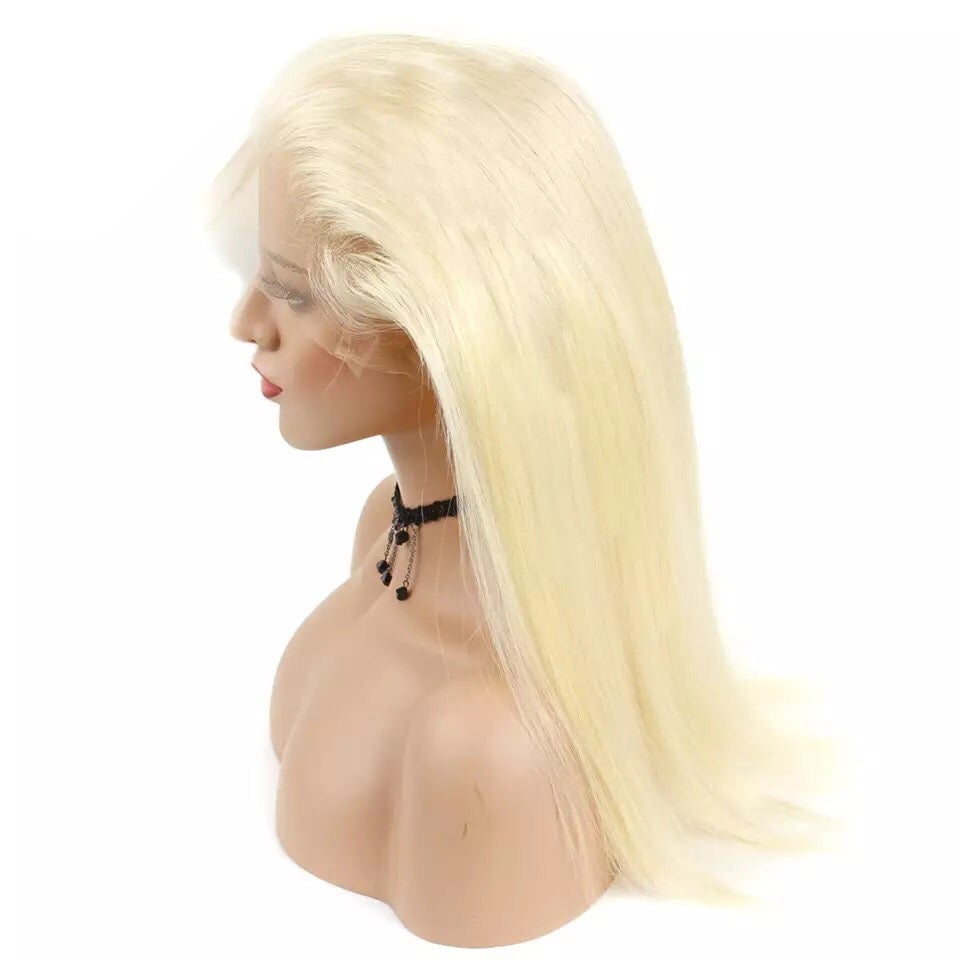 613 Blonde Human Hair 360 Frontals | Love Collection | Straight