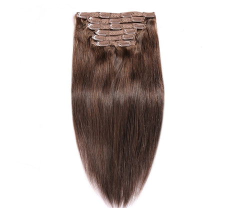 Clip In Extensions | Love Collection | Straight | Light Brown