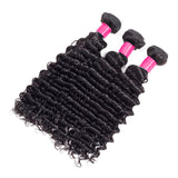 Discount Human Hair Bundles & Closure | Deep Wave