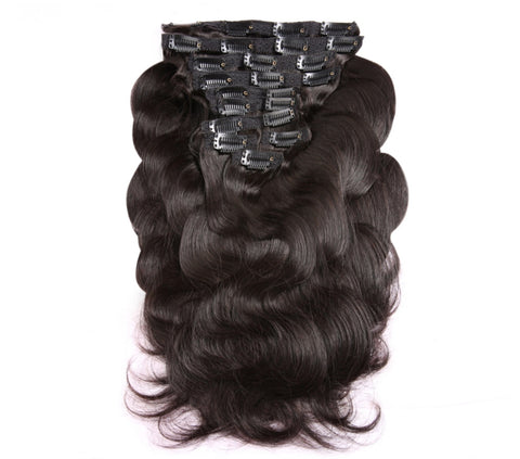 Clip In Extensions | Love Collection | Bodywave | 1, 1b or 2