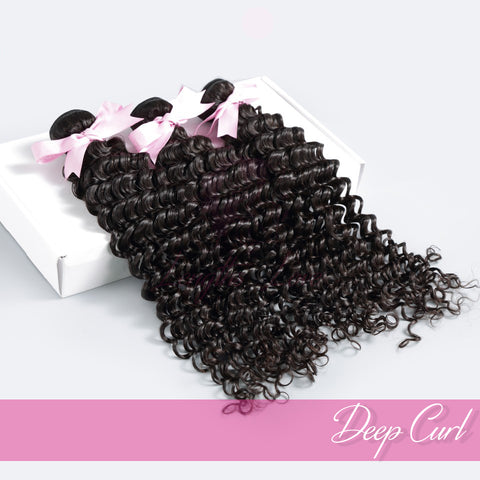 Virgin Hair Wefts | Love Collection | Deep Curly