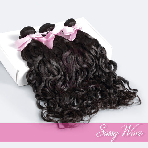 Virgin Hair Wefts | Love Collection | Sassy Wave