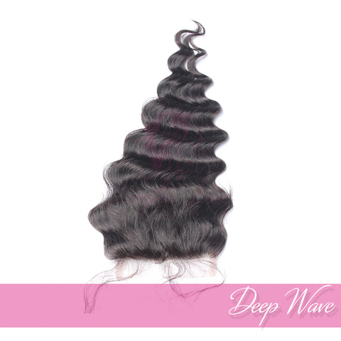 Virgin Hair Closures | Love Collection | Deep Wave