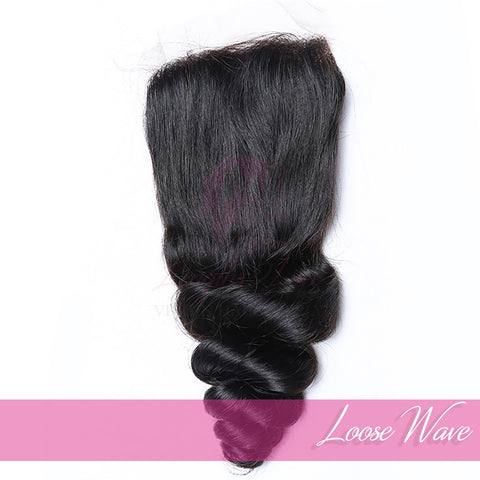 Virgin Hair Closures | Love Collection | Loose Wave