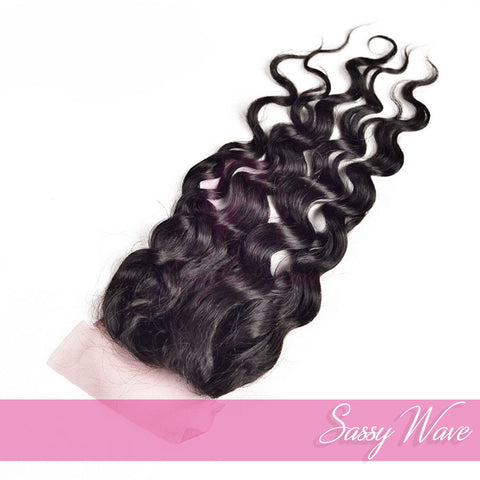 Virgin Hair Closures | Love Collection | Sassy Wave