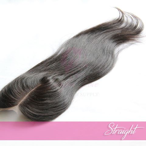 Virgin Hair Closures 4 x 4 | Love Collection | Straight