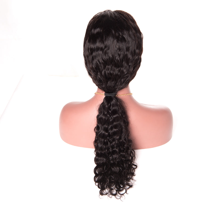 Discount Human Hair Lace Wig | Deep Wave