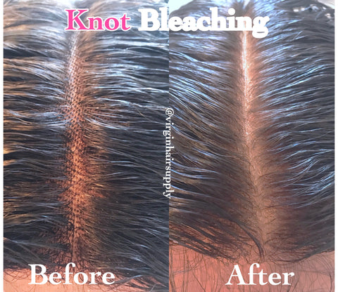 Customized Knot Bleaching Service