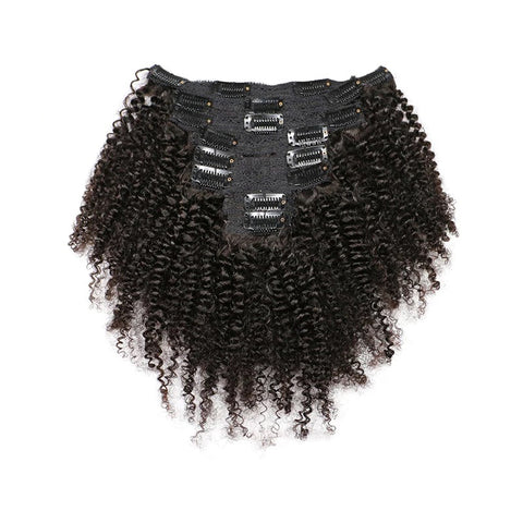 Clip In Extensions | Love Collection | Kinky Curly| 1, 1b or 2