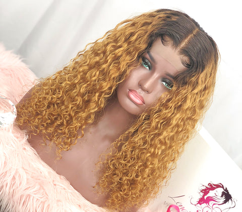 HUMAN HAIR CUSTOMIZED LACE UNIT | JOURNEE GOLDE | 18""