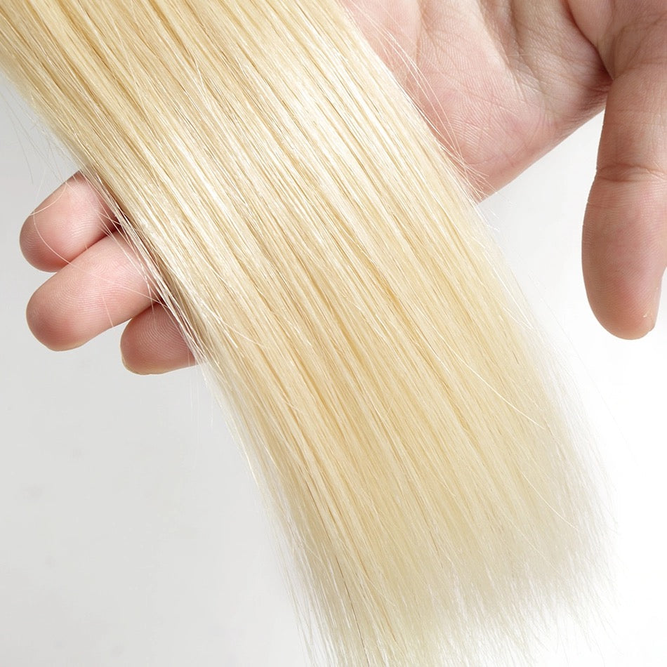 613 Blonde Human Hair Wefts | Love Collection | Straight
