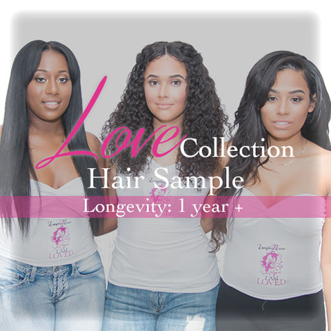 Virgin Hair Weft Samples | Love Collection