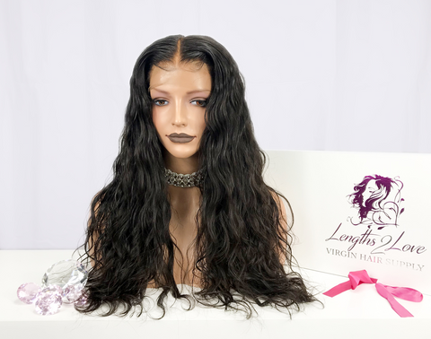 Virgin Hair Customized Lace Unit | Cassidy| 26""
