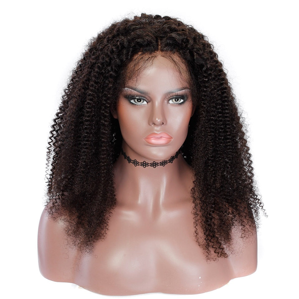 Uncustomized Virgin Hair Lace Wig | Kinky Curly