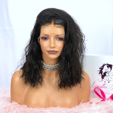 Virgin Hair Customized Lace Unit | Cassidy | 14""