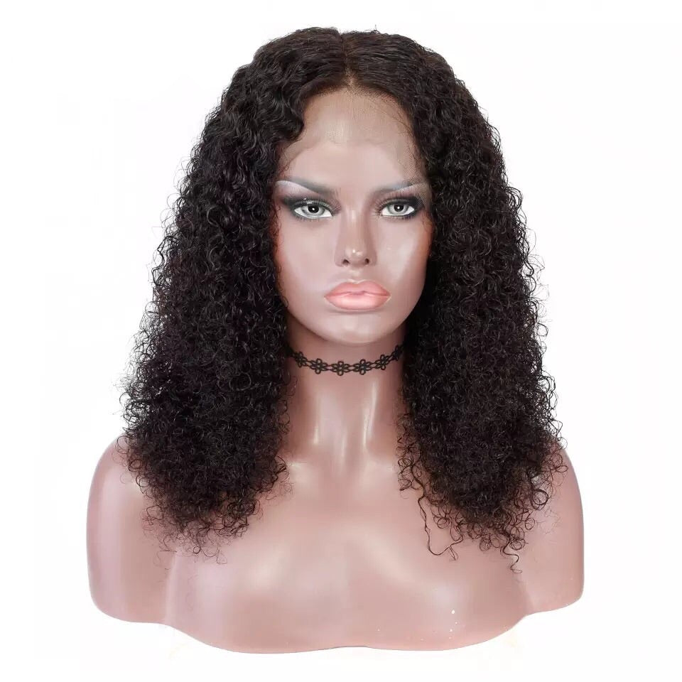 Uncustomized Virgin Hair Lace Wig | Soft Curly