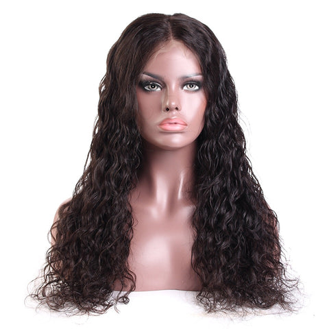 Uncustomized Virgin Hair Lace Wig | Natural Wave