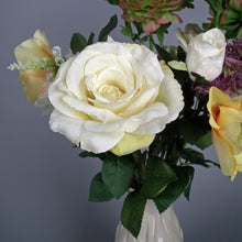 Load image into Gallery viewer, HEPBURN - Silk Roses, Rananculas & Anemanes Hand-tied