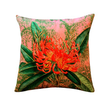 Load image into Gallery viewer, Vanilla Fly Coral Nutans Velvet Cushion