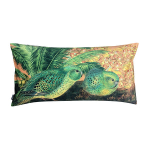 Vanilla Fly Parrot Orchid Soft Velvet Cushion