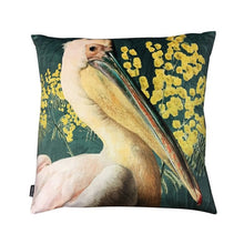 Load image into Gallery viewer, Vanilla Fly Pelican Green Velvet Cushion