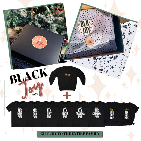 Black Joy Gift Box Bundle