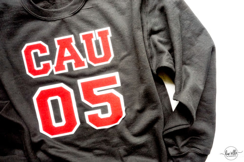 CUSTOM Clark Atlanta Sweatshirt | Customize GRADUATION YEAR