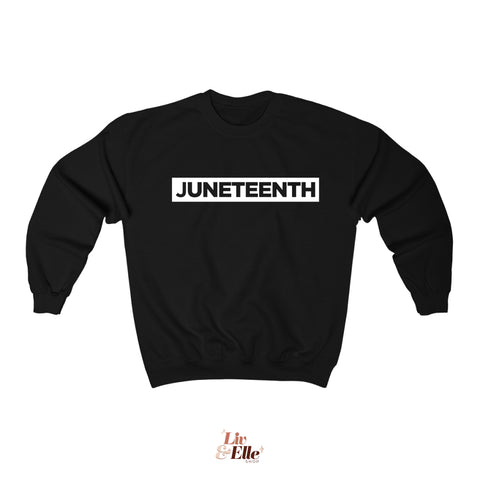 Juneteenth Sweatshirt