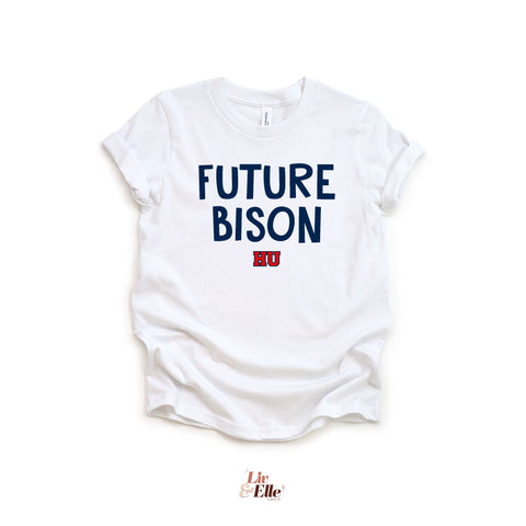 Future Bison HU Toddler & Youth Shirt | Personalize with Future Graduation Year