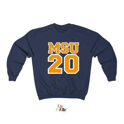 CUSTOM MSU Sweatshirt | Customize GRADUATION YEAR