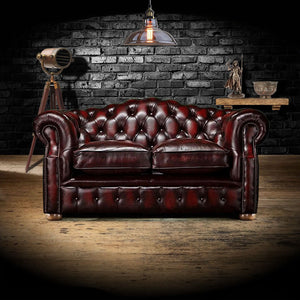 The Oxford - The Oxford Chesterfield leather sofa 2 seater