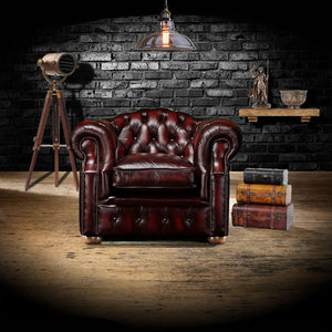 The Oxford - The Oxford Chesterfield Armchair