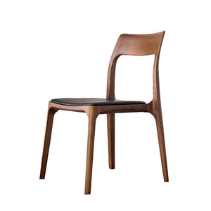 Portofino Solid Oak Chair pic1