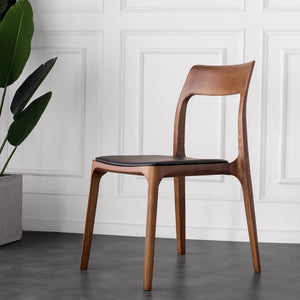 Portofino Solid Oak Chair pic12