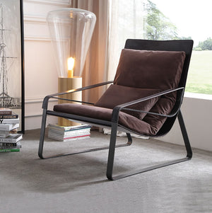 Thomas Leather Lounge Chair 5