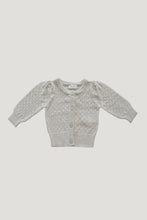 Load image into Gallery viewer, Jamie Kay Lace Cardigan - Oatmeal
