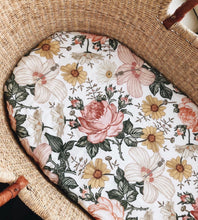 Load image into Gallery viewer, Garden floral swaddle