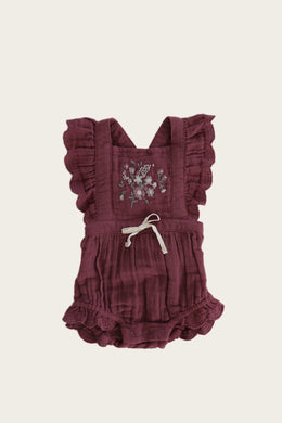 Jamie Kay Macy playsuit - grape
