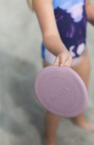 Scrunch frisbee - dusty rose pink