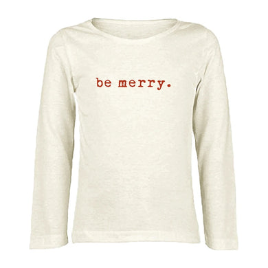 Be merry long sleeve tee
